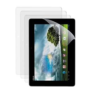 3x kwmobile® film de protection pour écran Asus MeMo Pad Smart ME 301 / ME301T TRANSPARENT. Qualité supérieure
