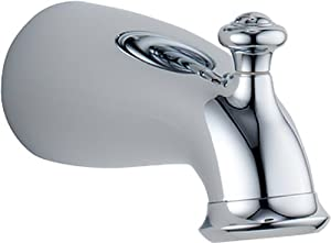 Delta Faucet RP38449 Botanical Tub Spout with Pull-Up Diverter, Chrome