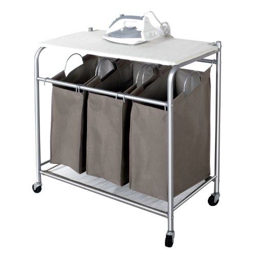 laundry sorter with ironing board top funk this house. Black Bedroom Furniture Sets. Home Design Ideas