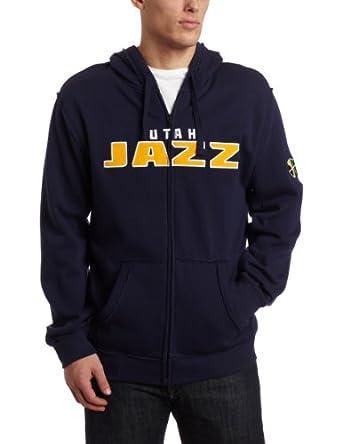 NBA Utah Jazz Gametime Full Zip Hoodie by adidas