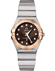 Omega Constellation T/T Diamond Ladies Watch 123.20.27.60.63.001