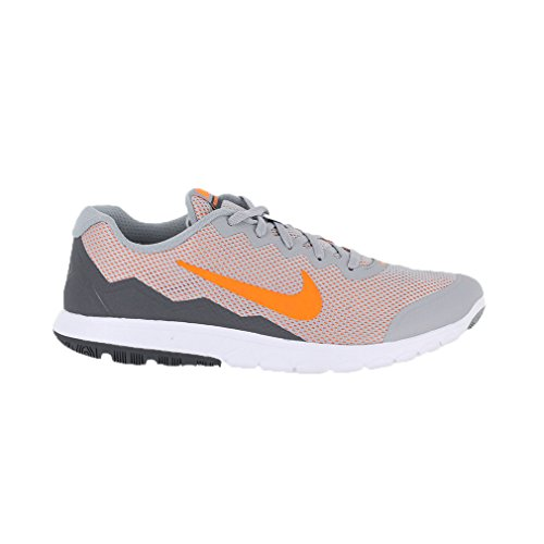 Nike Men\u0026#39;s Flex Experience Rn 4 Wlf Gry/Ttl Orng/Drk Gry/White Running Shoe 9.5 Men US, mens, Wolf Grey/Dark Grey/White/Total Orange, 9.5 D(M) US