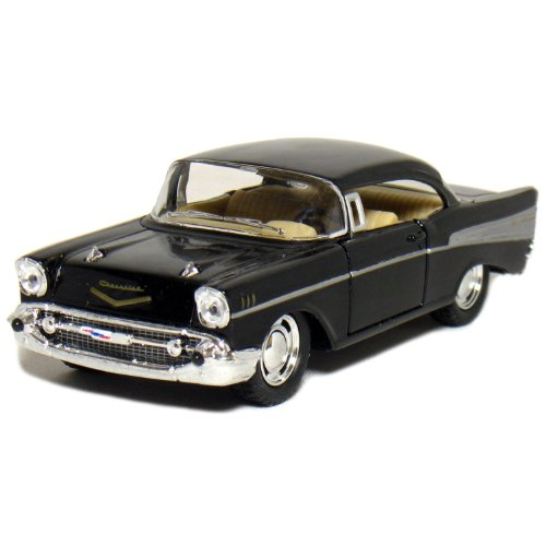 "5"" 1957 Chevy Bel Air Coupe 1:40 Scale (Black)"