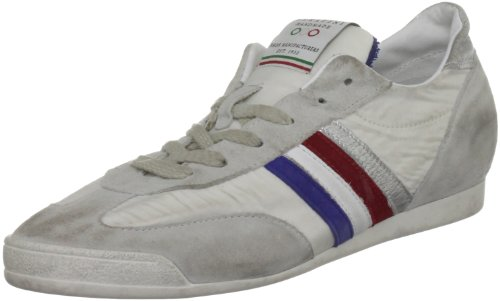 Serafini Sport Unisex-Adult Philadelphia Running White Blue Washed Trainer 1907 11 UK, 44 EU