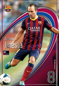 アンドレス・イニエスタ FC バルセロナ ST+ パニーニフットボールリーグ Panini Football League 2014 01 pfl05-042