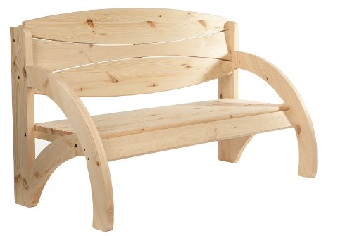 gartenbank basel 2 sitzer seitenteile aus metall belattung hartholz mahagonifarben. Black Bedroom Furniture Sets. Home Design Ideas