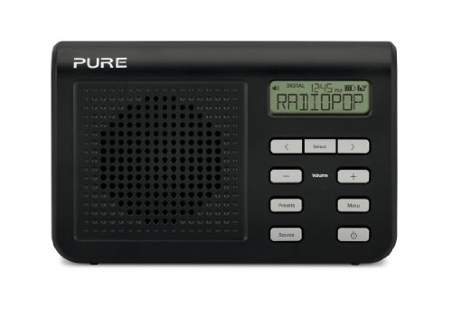 Pure One Mi Series 2 Portable DAB Digital and FM radio - Black