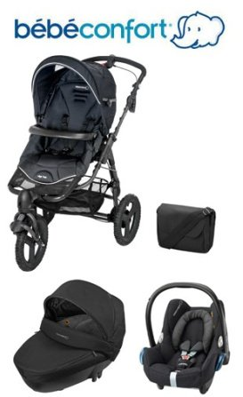 Bebe-Confort-Trio-Travel-System-High-Trek-Windoo-CabrioFix-with-FamilyFix-Base-Black-Raven