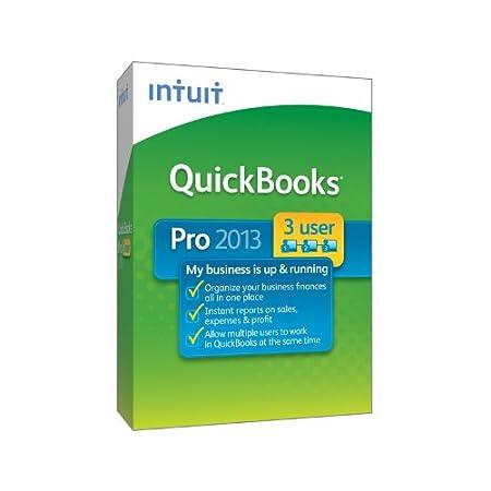 QuickBooks Pro 2013 - 3 User