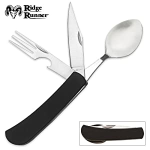 Ridge Runner Hobo Tool (Knife, can opener, fork, spoon) by Ridge Runner