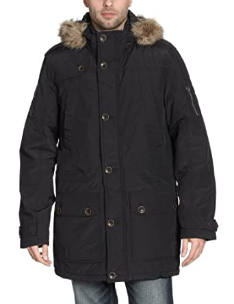 tom tailor herren parka 35196782510 parka w hood gr 50 52 l. Black Bedroom Furniture Sets. Home Design Ideas