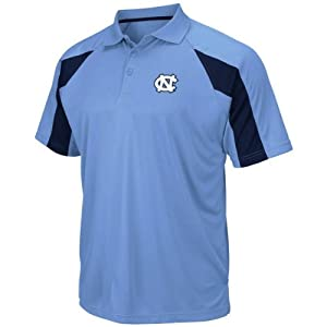 North Carolina Tar Heels Fringe Carolina Blue Polo by Chiliwear by Chiliwear LLC