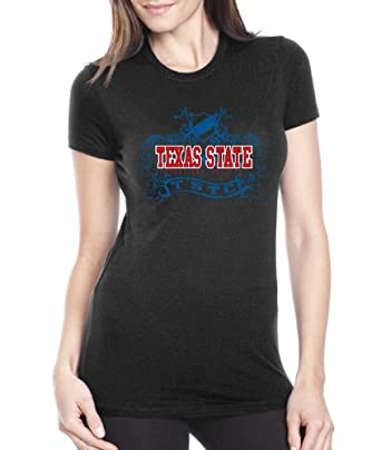 NCAA Texas State Technical College Women's Prius2 Long Body Classic T-Shirt (Black, Small)