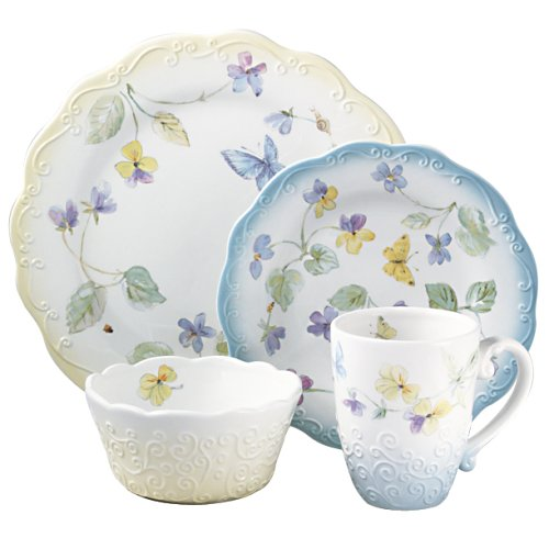Buy Pfaltzgraff Vienna Floral 4-Piece Place Setting, Service for 1