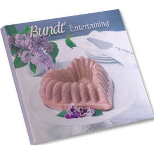 Nordic Ware Bundt Entertaining Hard Cover Cookbook with More Than 100 Recipes