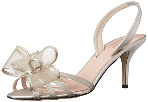 kate spade new york Women's Salerno Dress Sandal, Dove Grey, 11 M US
