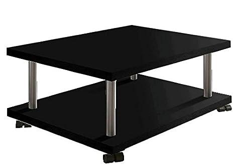 Regalwelt 2007-MB-SHG Couchtisch Romy, 86 x 67 x 38 cm, schwarz