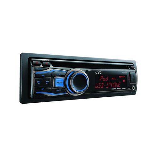 Jvc Kdr620 Usb-Cd Receiver With Dual Aux Inputs