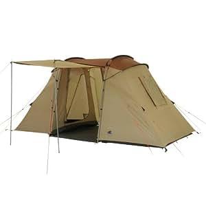 10T Outdoor Equipment Vis- A- Vis Delano 4 1142760438 Four Person Tent Beige / Chestnut