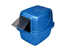 Van Ness CP6 Enclosed Cat Pan/Litter Box, Large, Colors may vary