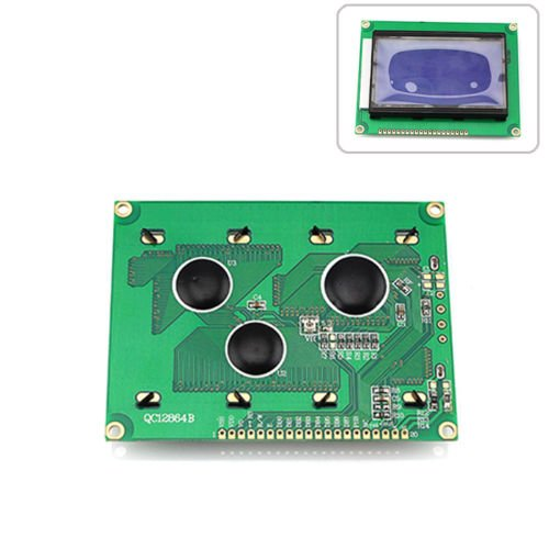 Happu-Store Matrix Yellow Green Backlight 5V 128X64 Dots Lcd Display Module Graphic