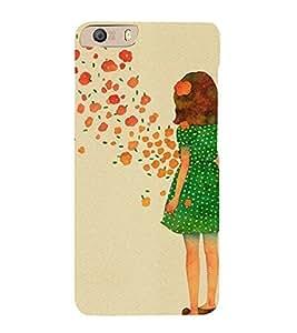 EPICCASE Windy Girl Mobile Back Case Cover For Micromax Canvas Knight 2 E471 (Designer Case)