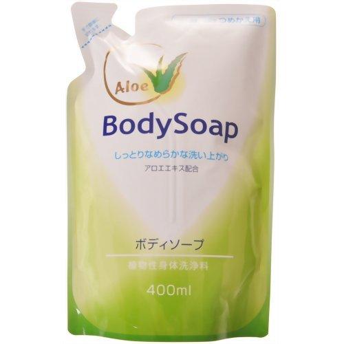 第一石鹸 アロエボディソープ 替 400ml