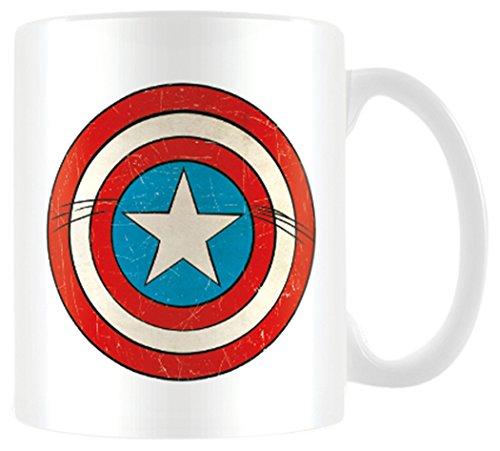 Pyramid International Marvel Retro Tazza Mug Captain America