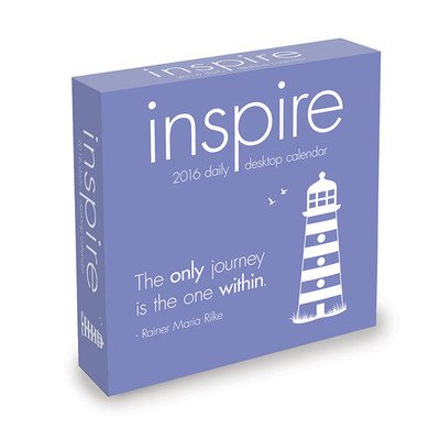 Inspire Desk Calendar by TF Publishing 2016
