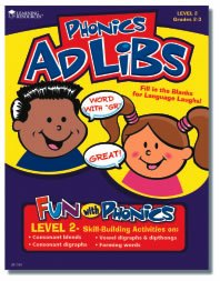 Learning Resources Phonics Ad Lib Book - Level 2