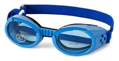 Doggles - ILS Extra Small Shiny Blue Frame / Blue Lens (DODGILXS-04) -
