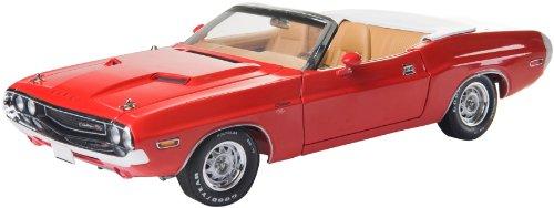 GreenLight 1:18 1970 Dodge Challenger R/T Convertible - Rallye Red (Greenlight Dodge Challenger compare prices)