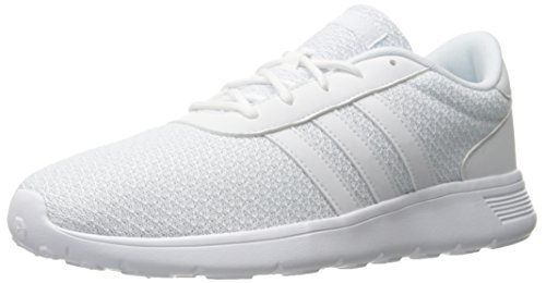 Adidas Performance Men's Lite Racer Running Shoe, White/White/White, 10.5 M US