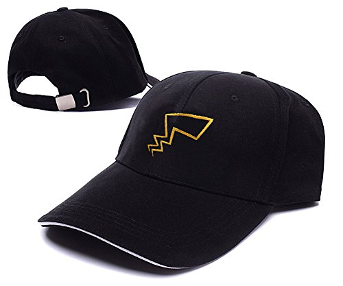 XINMEN Pokemon Pikachu Tails Logo Adjustable Baseball Caps Unisex Snapback Embroidery Hats