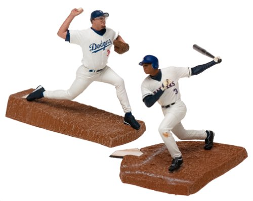 McFarlane Toys MLB 3 Inch Sports Picks Series 1 Mini Figure 2-Pack Eric Gagne & Alex Rodriguez - 1