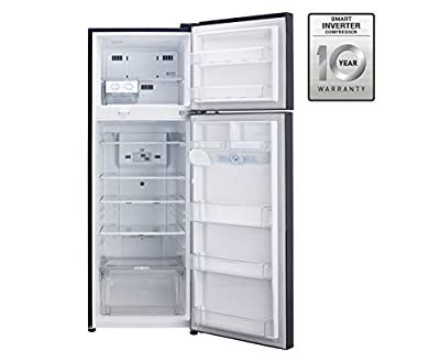 LG GL-M322RMPL Frost-free Double-door Refrigerator (310 Ltrs, 4 Star Rating, Marine Paradise)