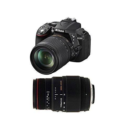 NIKON D5300 + 18-105 VR + SIGMA 70-300 DG APO MACRO