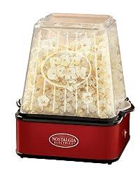 Nostalgia Electrics TPM100REDBLK Stirring Theater Popcorn Maker
