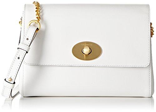 Le Tanneur Irresistible, Borsa a tracolla donna Bianco Blanc (Perle) Taille Unique