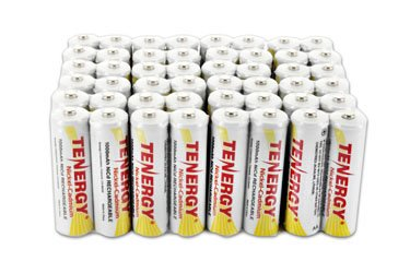 48 pcs Tenergy Nicd AA 1000mAh Batteries for