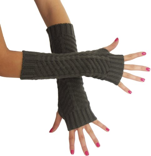 BRUBAKER-Armstulpen-Handschuhe-Strick