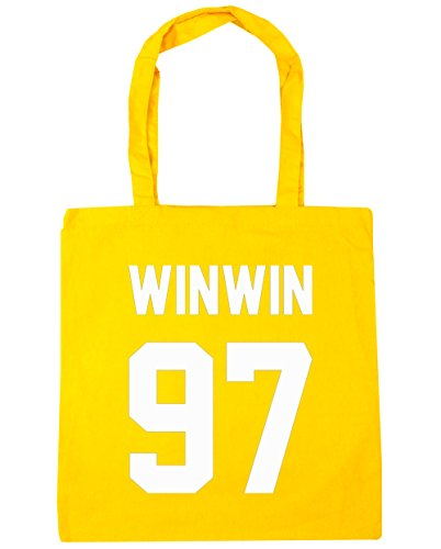 hippowarehouse-winwin-97-printed-on-the-black-tote-shopping-gym-beach-bag-42cm-x38cm-10-litres