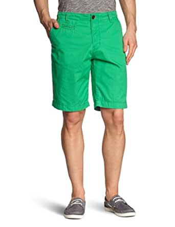 TOM TAILOR Denim Herren Hose 64007960912/solid twill chino shorts, Gr. 30, Grün (7352 green alien)