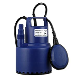 Water Pump - 1600 GPH - Adjustable Float Switch - 1/2 HP