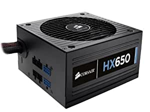 Corsair Professional Series 650-Watt 80 Plus Certified Power Supply compatible with   and   Platforms - CMPSU-650HX