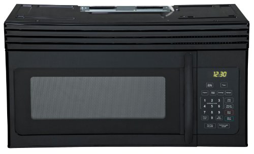 New Haier HMV1630DBBB 30-inch Over-The-Range 1000 Watt Microwave, Black