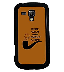 PRINTSWAG QUOTE Designer Back Cover Case for SAMSUNG GALAXY S DUOS 2 S7582