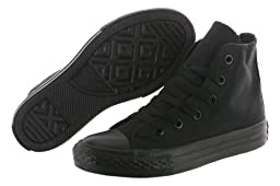 Converse Childrens Chuck Taylor® All Star Hi,Black Monochrome,US 10.5 M