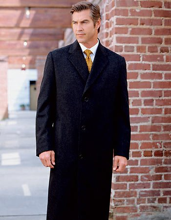 Why are there no long hooded coats for men? - Straight Dope
