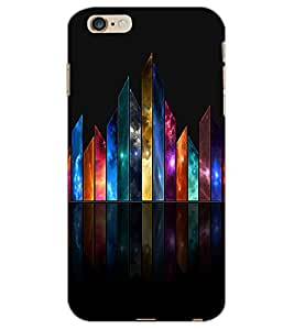 APPLE IPHONE 6 S PLUS COLORFUL BARS Back Cover by PRINTSWAG